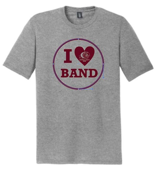 Picture of District Made® Perfect Tri® Crew Tee. DM130 (Iloveband) (8000)